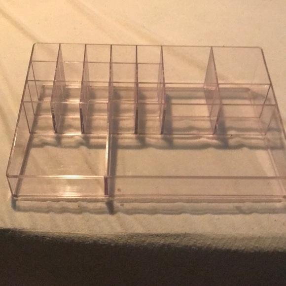 "Other - 12"" x 8"" clear acrylic organizer"
